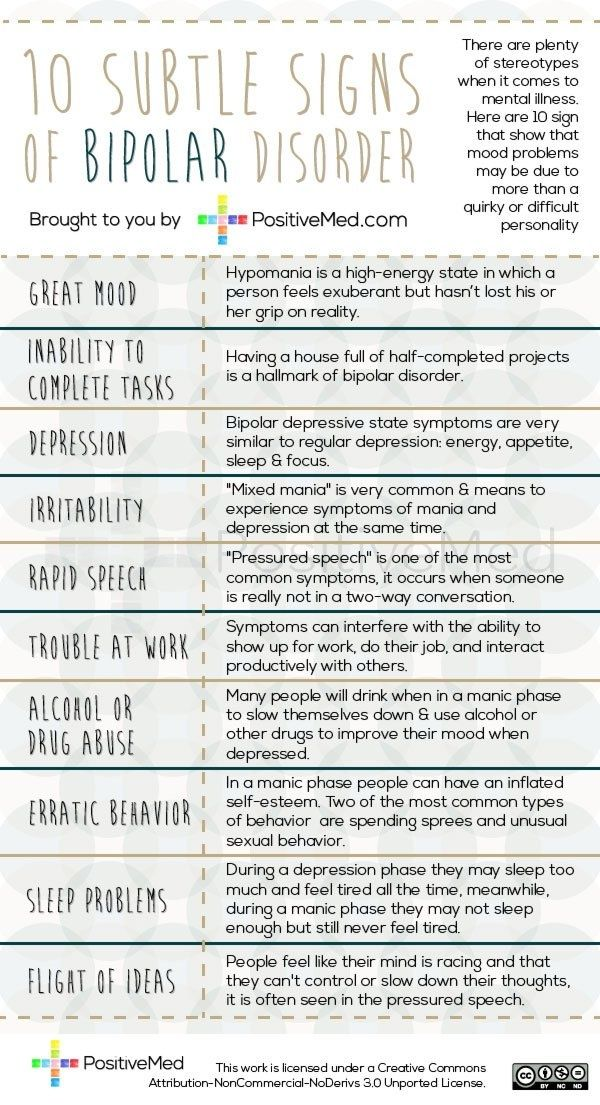 Signs Of Bipolar