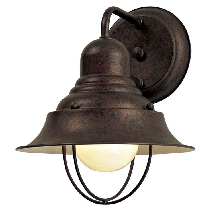 Outdoor Wall Light In Antique Bronze Finish