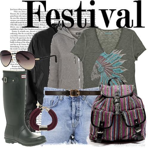 Festival Outfit - 90s influence
