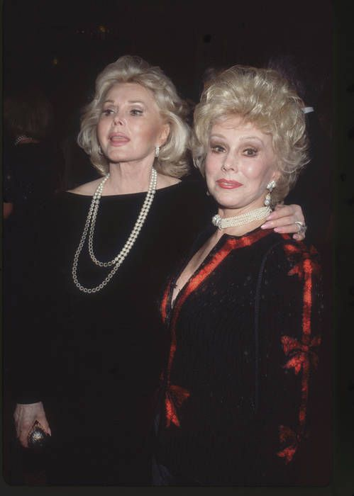 The Gabor Sisters in 1987