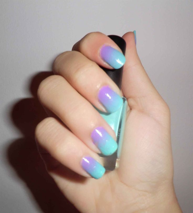 Degradado de uñas - TheCuteVanity