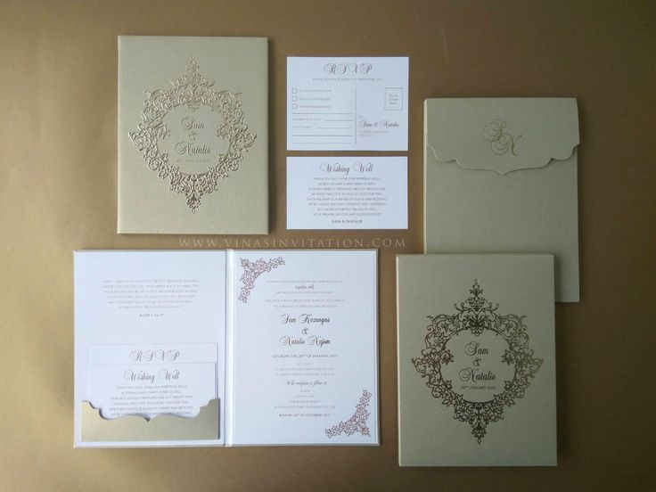 14 best Wedding invites images on Pinterest Wedding stationery - wedding invitation design surabaya