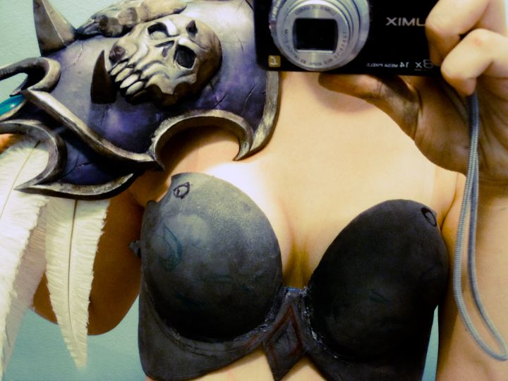 Sylvanas Windrunner Cosplay Tutorial Body Paint