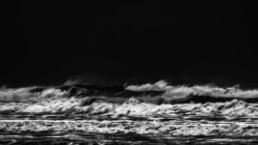 WAVES IN BLACK AND WHITE 1 - Limited Edition 2 of 25