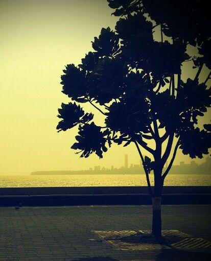 Sunset#marinedrive#mumbai