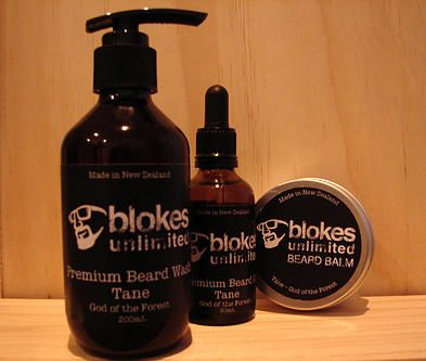 Tane Beard Pack - for the bloke who wants it all