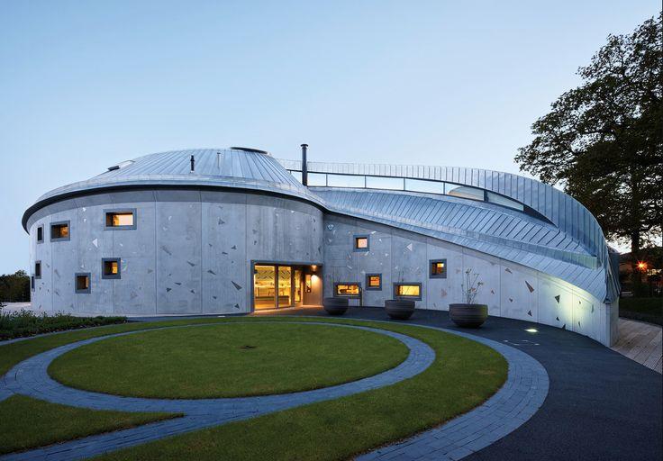 Rheinzink UK: Zinc roofing, Maggie's Centre, Swansea 2 of 2