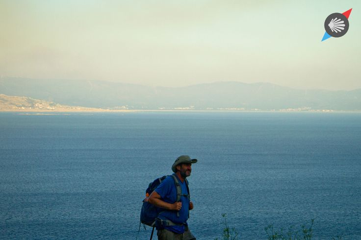 #pilgrim #sea #blue #Finisterre