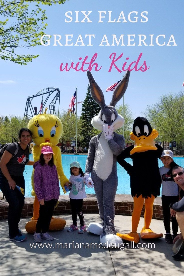 This Rv Family Adventure Has Included Plenty Of Amusement Park Visits To Keep The Young Adrenaline Junki Great America Family Adventure Travel Family Adventure