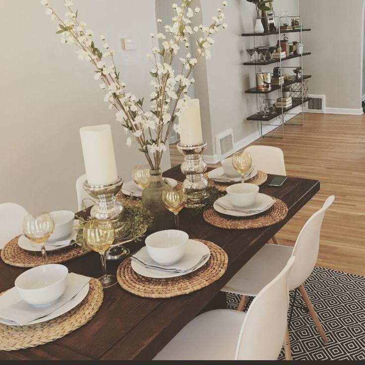 When Staging Your House For Sale Be Sure To Set Your Dining Table