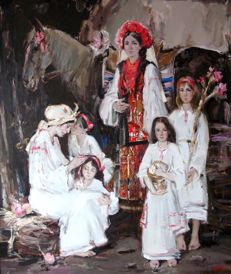 "Violetta Monsevich - ""На щастя, на долю!"" п.о. 210х180 2009"