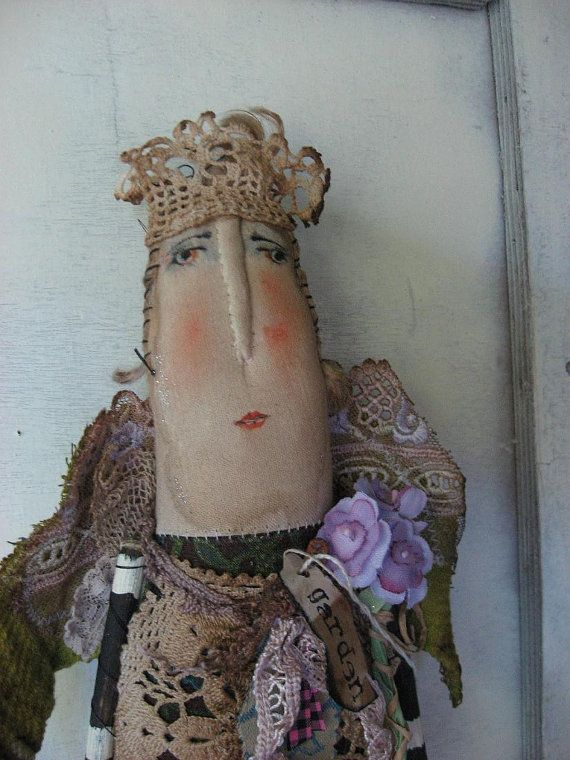 The Garden Dowager by Baggaraggs on Etsy
