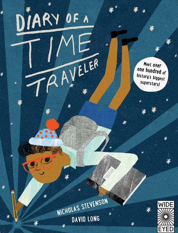 Journey through time with Augustus and his teacher Professor Tempo as they visit Stonehenge, ancient Egypt, Mayan temples, the Great Wall of China, Marie Curie's lab, NYC in the 1930s, and so many other places from history class. Diary of a Time...