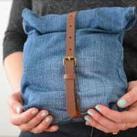 Upcycling Lunchbag aus Jeans