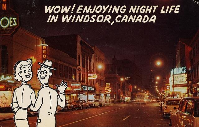 Ouellette Ave. - Windsor, Ontario