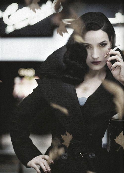 """""""What Clara Delvine wants, Clara Delvine gets."""" (Dita Von Teese)"""