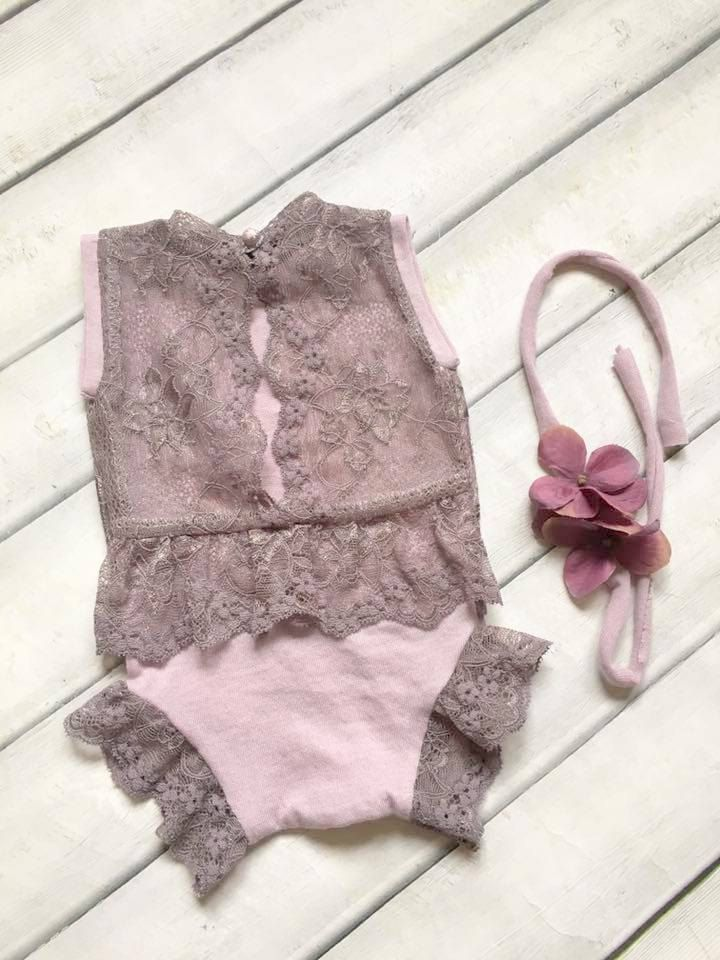 Cod 247Newborn Lace Romper baby by 4LittlePrincessProps on Etsy