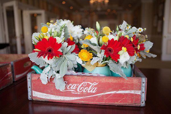 Caisse Coca-Cola vintage ♥