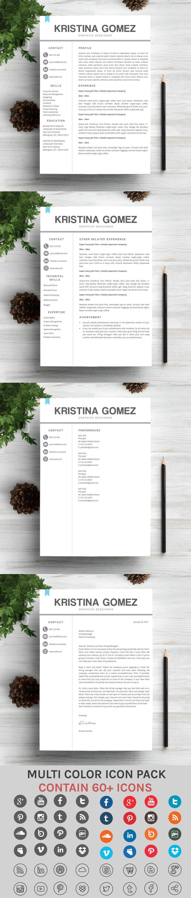 printable resume format%0A Creative and Modern Resume