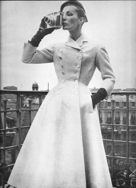 Fashion 50's: мода 50-х годов