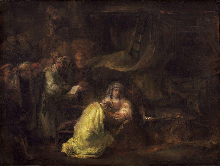Rembrandt van Rijn - De besnijdenis