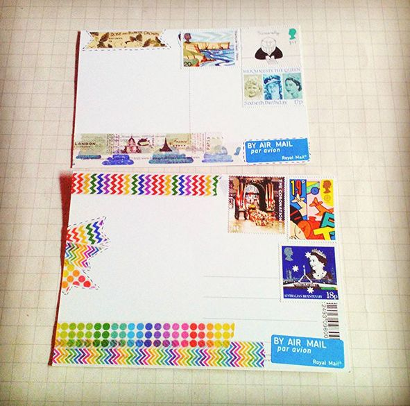 Outgoing Happy Mail to Poland