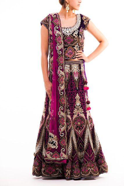 #unique #bridal #lehenga