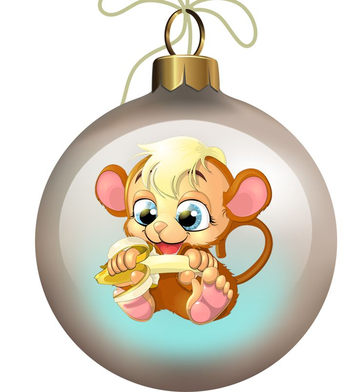 картинки мультяшных обезьянок к новому году указано сайтах