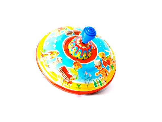 Toy Spinning Top Michael FUCHS Western Germany by SueEllensFlair