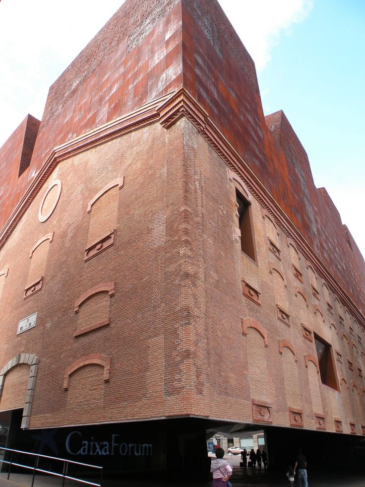 Caixa Forum, Madrid by Herzog and De Meuron.