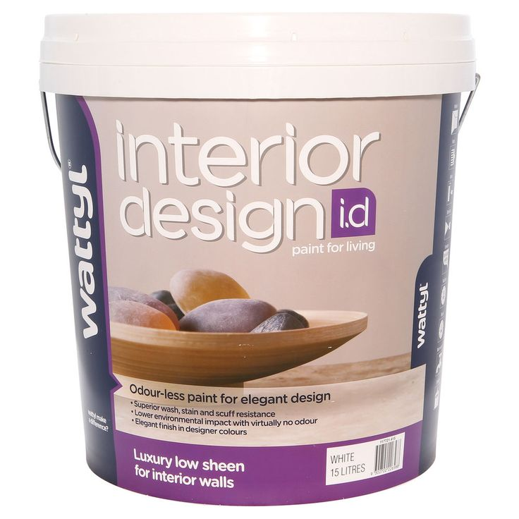 Wattyl Interior Design Luxury Low Sheen White 15L - $169 @ Masters Home Improvement, $172 @ WTPC, $144.90 @ Paint Spot