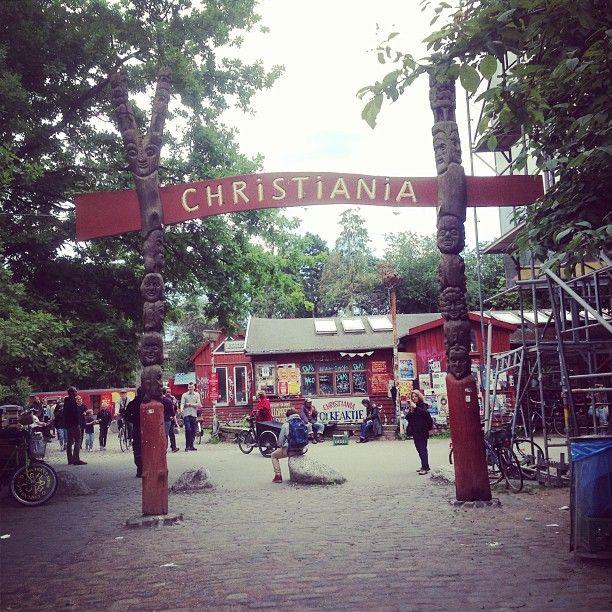 Christiania in København, Region Hovedstaden