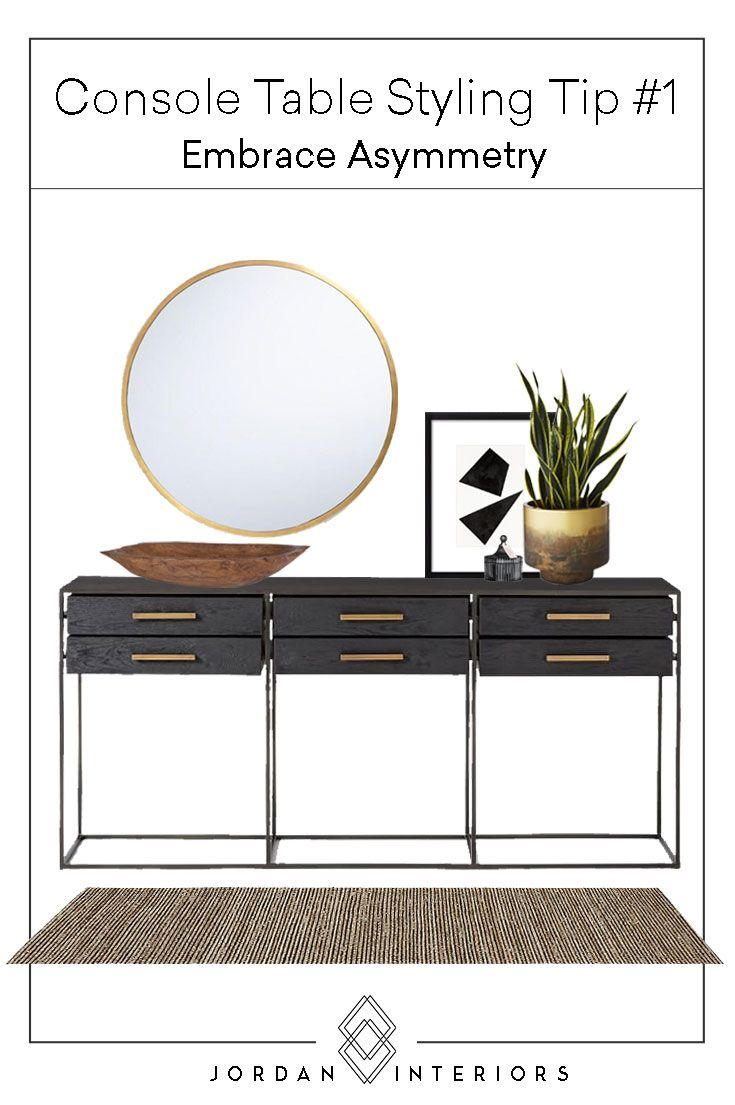 HOW TO // ULTIMATE GUIDE TO STYLING YOUR CONSOLE TABLE