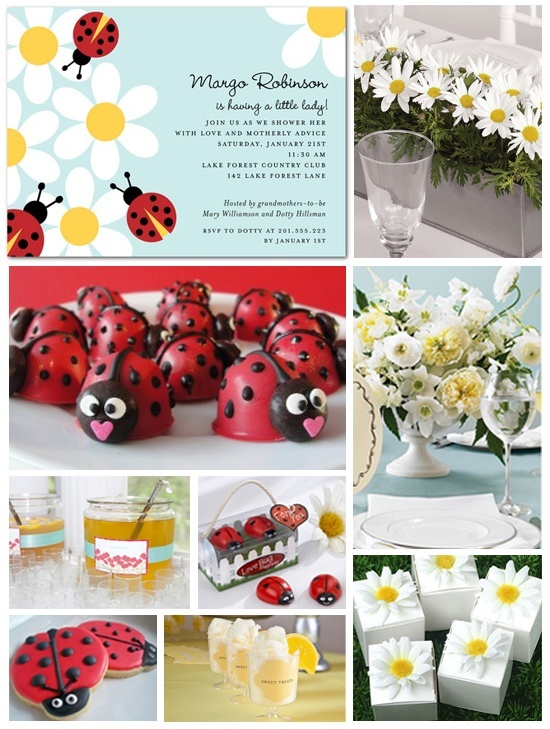 ladybug baby shower. Y'all better plan this for me!!!