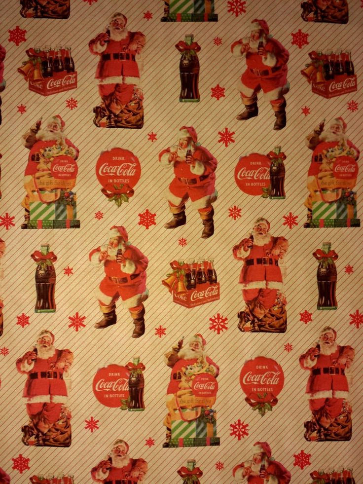 Have the best holiday season with coca cola christmas for Best christmas wrapping paper