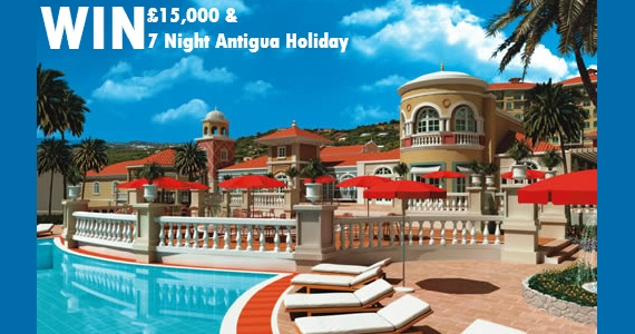 Enter to win a £15,000 Cash and a 7 night Antigua Holiday.   http://womenfreebies.co.uk/competitions/catchphrase-antigua-15k/