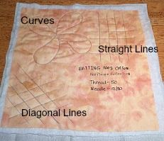 The Secrets of Quilt Batting- and this site has many very helpful anything related to quilting areas