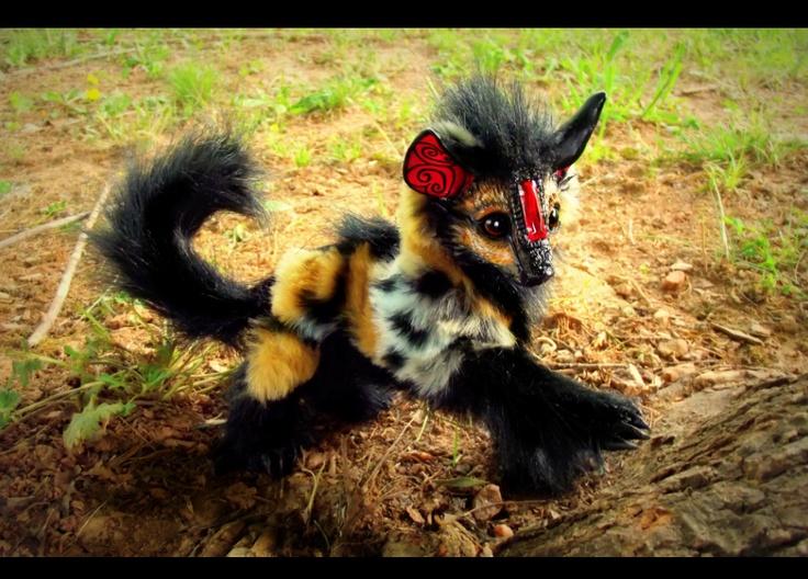 Baby Hyena!by *Wood-Splitter-Lee