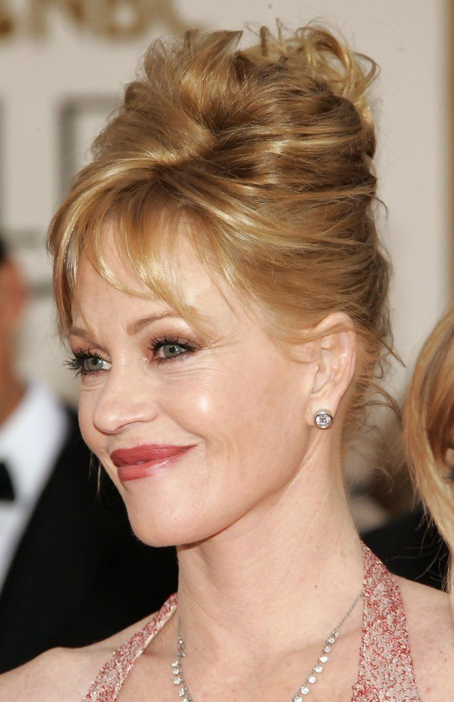 melanie+griffith | bangs trend in this photo melanie griffith actress melanie griffith