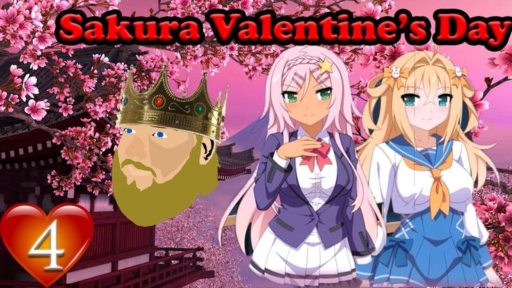 THANKS FOR WATCHING!!!! Like Comment & Sub for more!  Follow Damian on Twitter: https://twitter.com/Project_Ethuria  Play Sakura Valentine's for free: https://twitter.com/wingedcloudvn/status/831637526494457856  Welcome to a free game from the Sakura series! Join Damian and I as we become the Harem King and have fun during an all expense paid Valentine's Trip!  Help me make content by supporting me on Patreon:  http://ift.tt/2kXGVNq  Go buy one of my T-shirts! 10% goes to the Wounded Warrior…