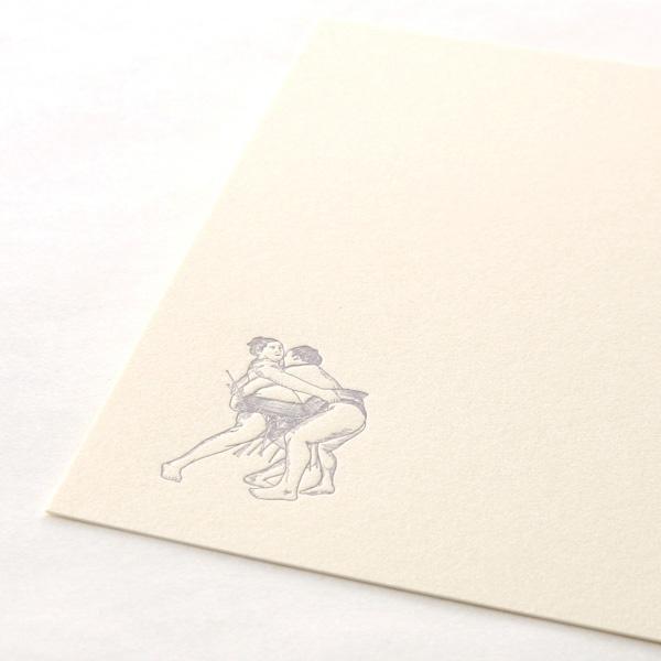 カード・封筒セット 相撲 ウイングド・ウィール