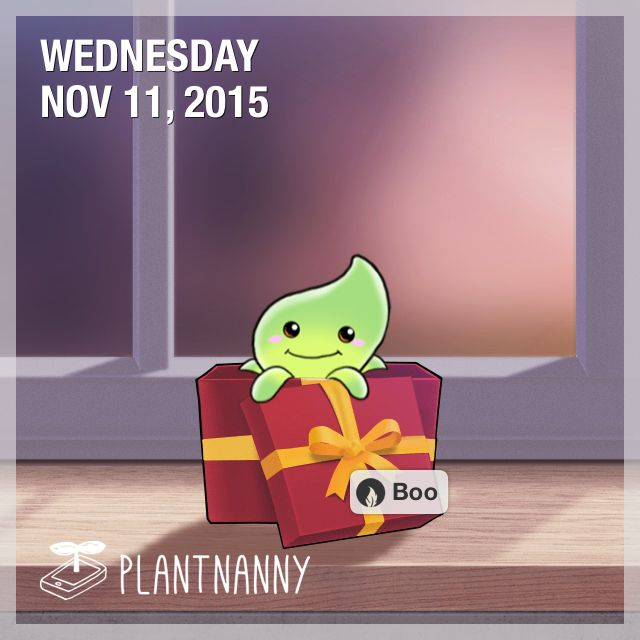 Say hello to my plant! It has absorbed 2,250 ml of water. Get yourself a plant at http://fourdesire.com/outer_link?url=http://itunes.apple.com/app/id590216134&l=en_ID&m=56432BD7