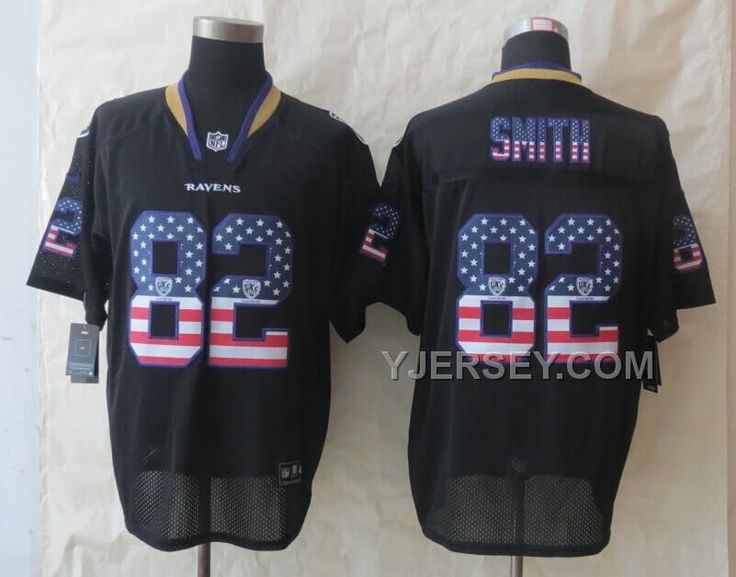 buy discount nike ravens 82 smith usa flag fashion black elite jerseys from reliable discount nike ravens 82 smith usa flag fashion black elite jersey