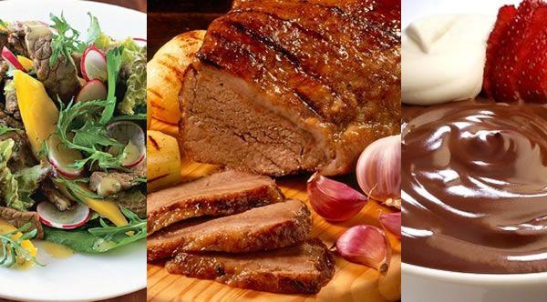 Sugestões de almoço ou jantar para o dia das mães ou para o dia dos pais |Portal Tudo Aqui