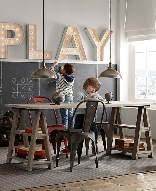 architect-inspired play table. for projects large and small. #rhbabyandchild