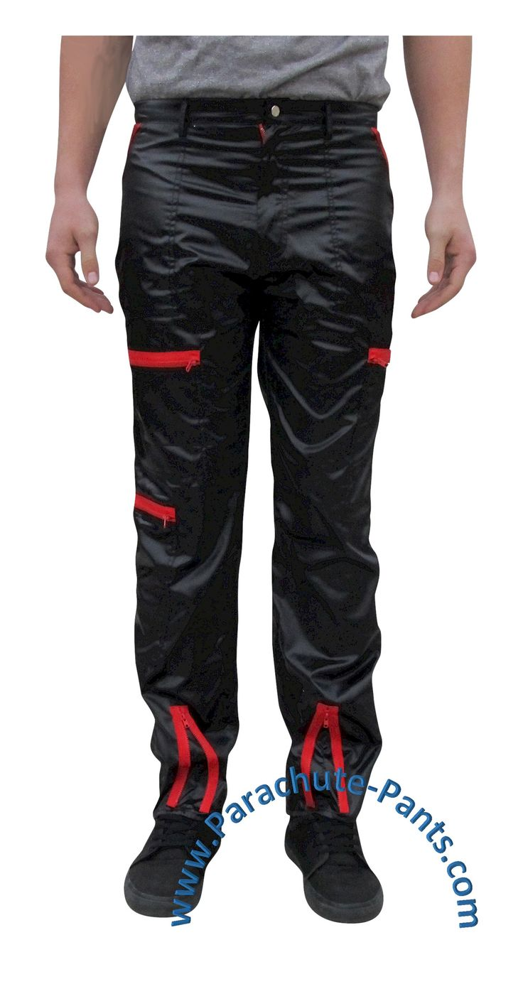 Awesome nylon Countdown Parachute Pants will bring you back to the 80s in no time. Break dancing is optional, and pockets are plentiful. You'll be making a swoo