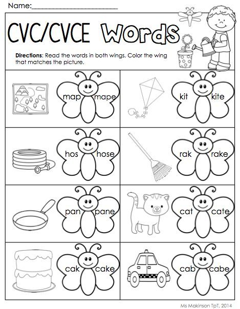 May Printables - Kindergarten Literacy and Math school Kinder