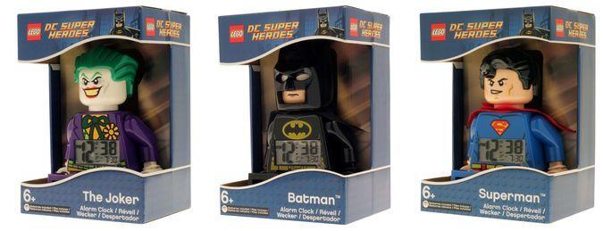Lego And DC Comics Universe Batman, Superman, Joker Digital Alarm Clock Boxing http://coolpile.com/gadgets-magazine/lego-dc-comics-super-heroes-alarm-clocks/ via coolpile.com by @legowatches  #AlarmClock #Batman #Bedroom #Clocks #DCComics #Joker #Lego #LegoWatches #Superheroes #Superman #coolpile