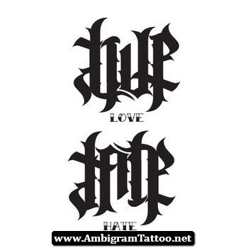 17 best images about ambigram tattoo on pinterest design for Ambigram tattoo generator free