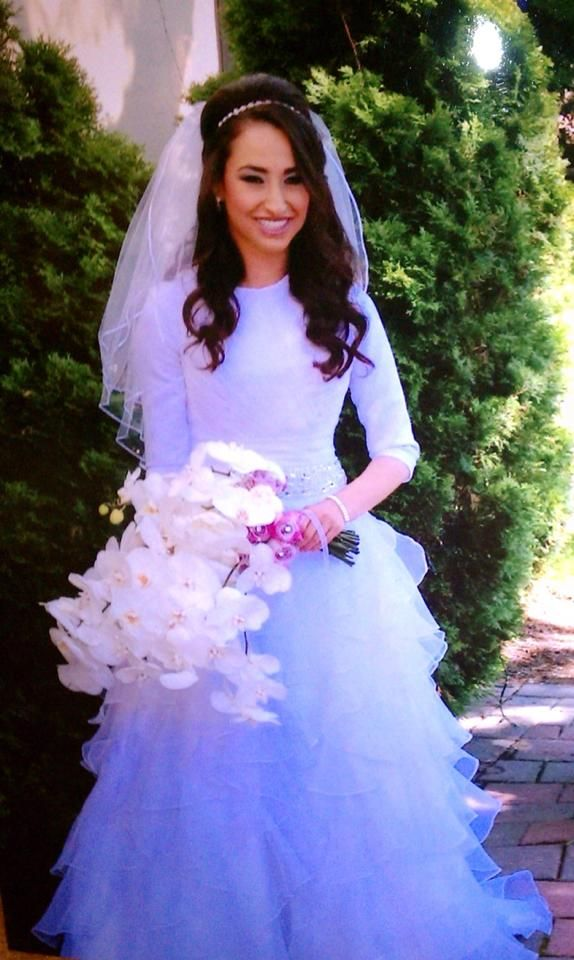 181 best Modest Wedding images on Pinterest | Wedding frocks ...